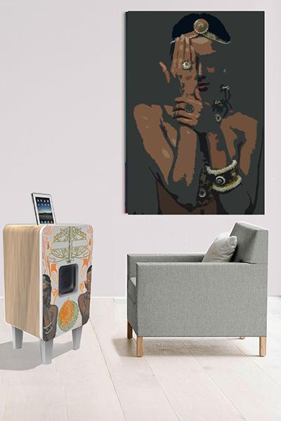 meuble enceinte dock on wacom gallery. Black Bedroom Furniture Sets. Home Design Ideas