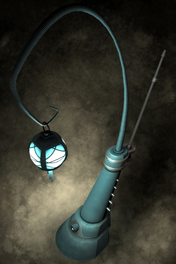 Sci-Fi Lamp Post on Behance