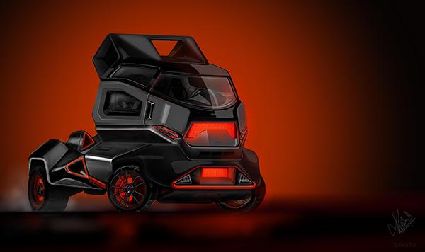 Truck Rage concept