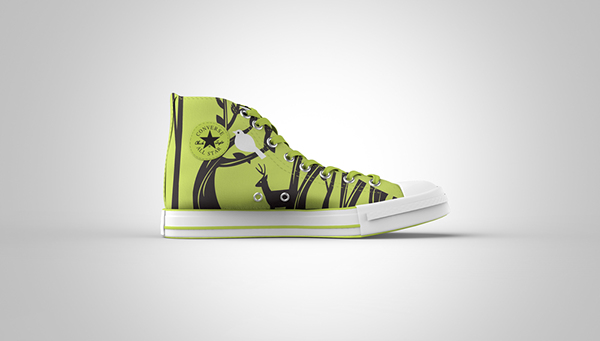 e048a58d7d7d Forest Themed - Converse Mockup on CCS Portfolios