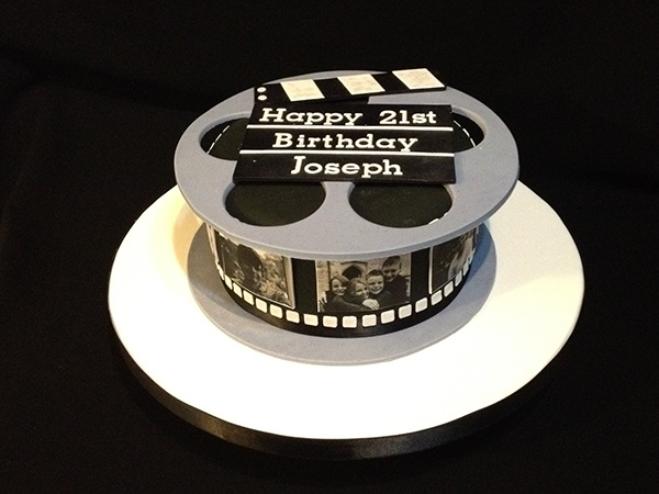 Cake With Photo Reel : Film Reel Cake on Behance