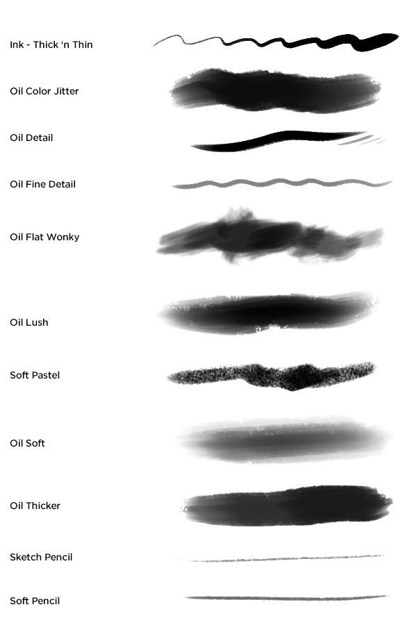 Kyle's Megapack Photoshop Brushes on Behance