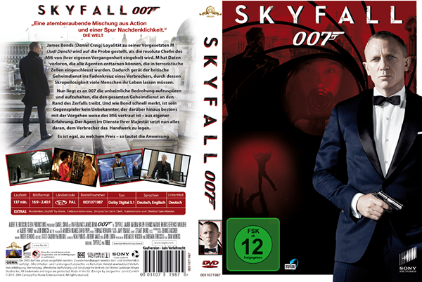 This is my PreRe...007 Skyfall Dvd Cover