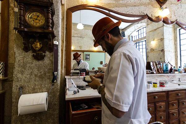 fotojornalismo reportagem barbearia lisboa figaro's