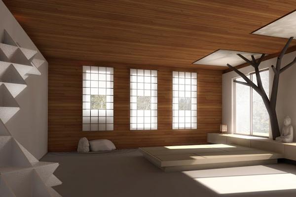 Meditation Room On Behance