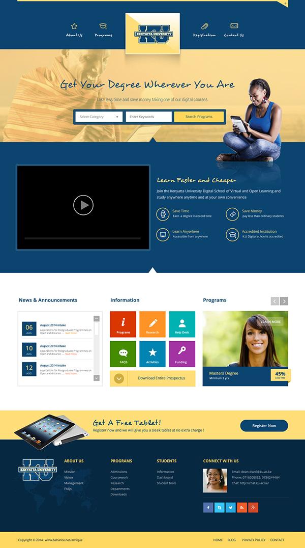 Kenyatta University Website