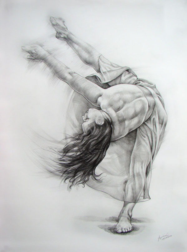 Dance Drawings All Drawings Are a1 Size