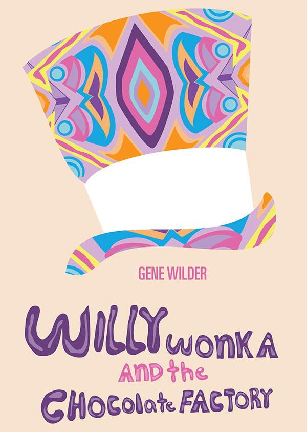 Willy Wonka Graphic Design