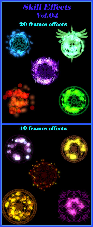 fantasy fighting 3D blast effects energy flares flicker frames fx