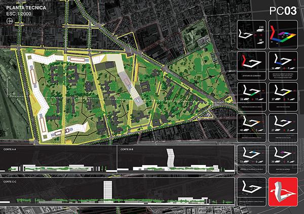 Concurso Internacional maquetas buenos aires Parque Cívico infografia urbanismo