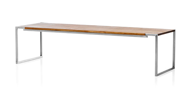 Hover Eco Coffee Table With Through   Going Staves. L 160 X H 40 X W 50 Cm.
