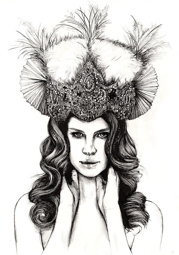 Lana Del Rey Artworks