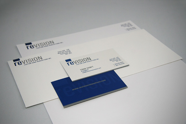 renovations Identity Design Logo Design wordpress Stationery Business Cards