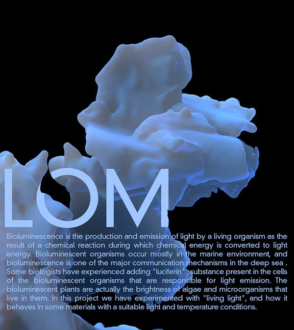 3D design nastplas bioluminescence light biology science art