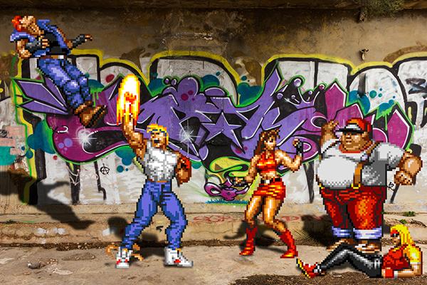 Games Gaming Video Games real life real bits 8-bit Retro photos