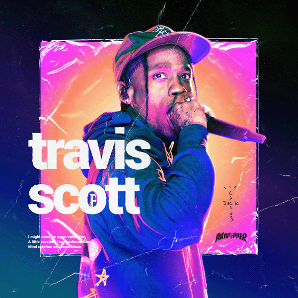 Travis Scott Poster