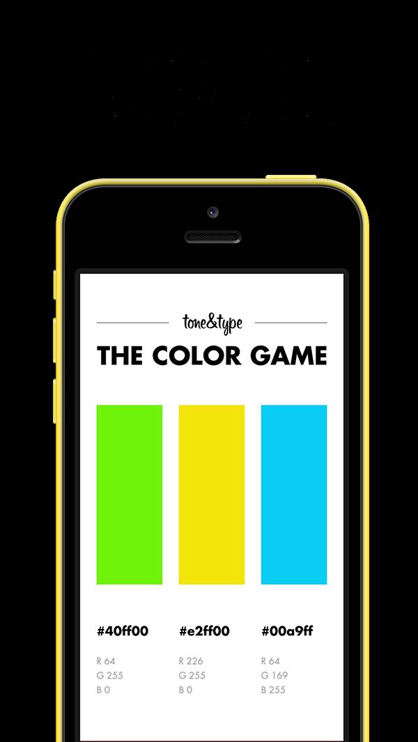 color color game game app ios ios7 iOS 7 retina iPad iphone iphone 5c mobile app design UI ux