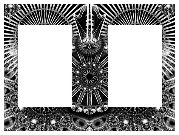 black  skull  eyes  Illustration  pencil  pattern