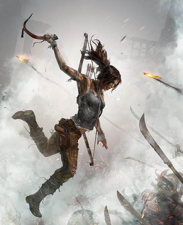 Wallpaper Lara Croft Shadow Of The Tomb Raider Concept: Tomb Raider Definitive Edition On Behance