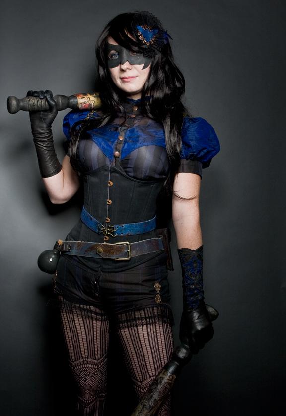 Steampunk/Victorian Nightwing Costume on Behance