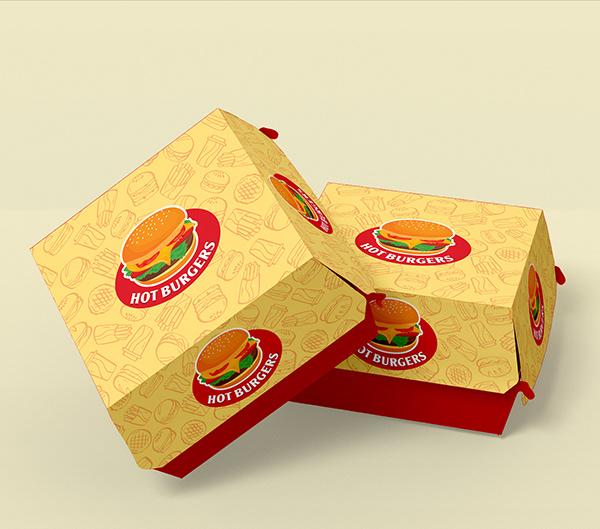 Pacakge Design -Burger