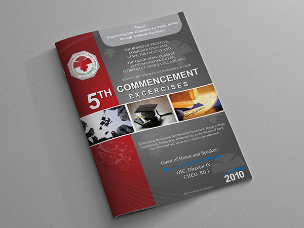Graduation Program Covers On Behance
