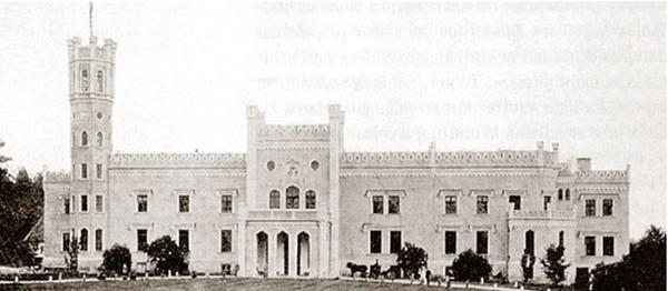 logo Logotype manor house