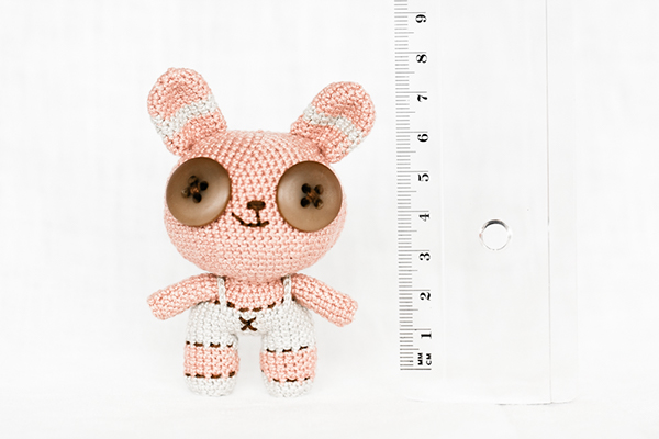 Amigurumi Wire Skeleton : Pink Amigurumi Bunny on Behance