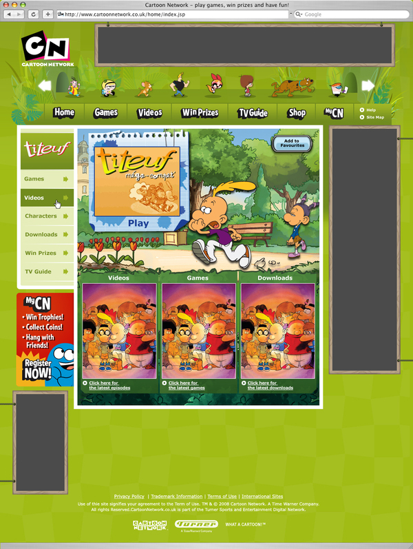 Cartoon Network On Behance