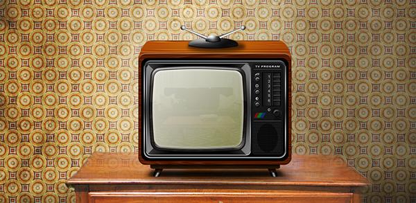 tv  tv program Icon television modern Retro