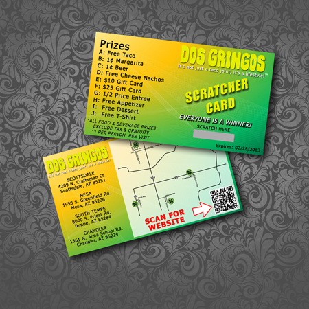 Promotional Scratcher Cards On Behance