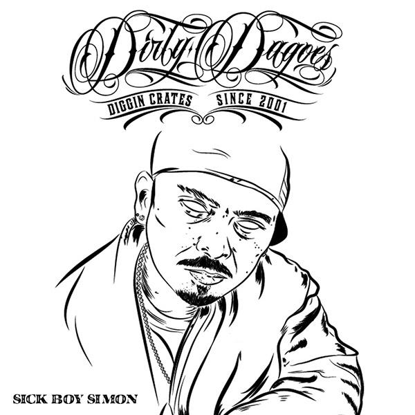 DDMV2 Funboy-Damned Alex Panci Diry Dagoes rap hip-hop mixtape draw graphic-design magazine Album crew skulls horror blood