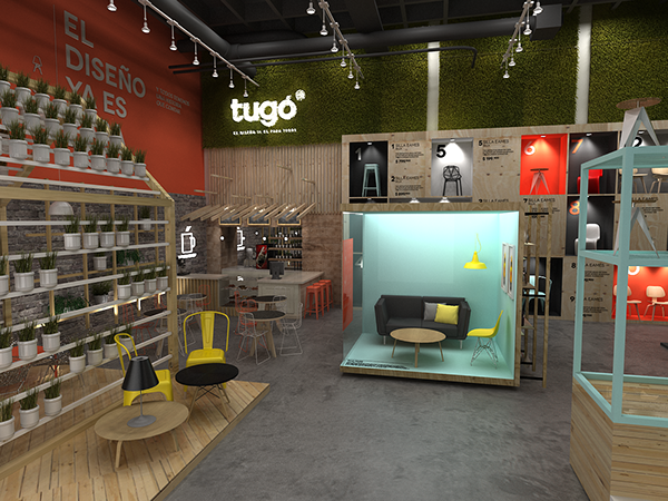 Tug Propuesta Dise O Interior On Behance