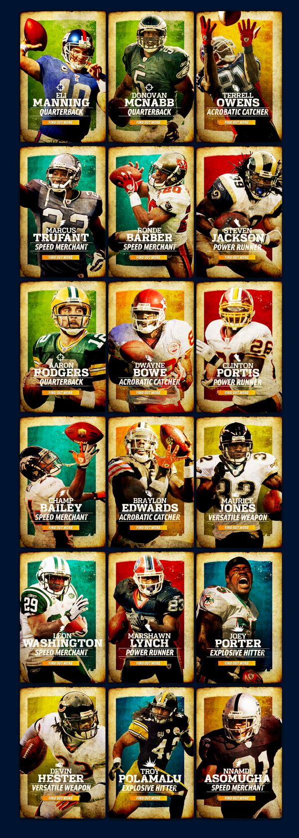NFL-360 on Behance