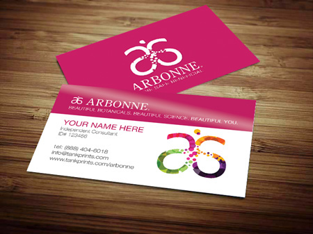 Arbonne Business Cards on Behance