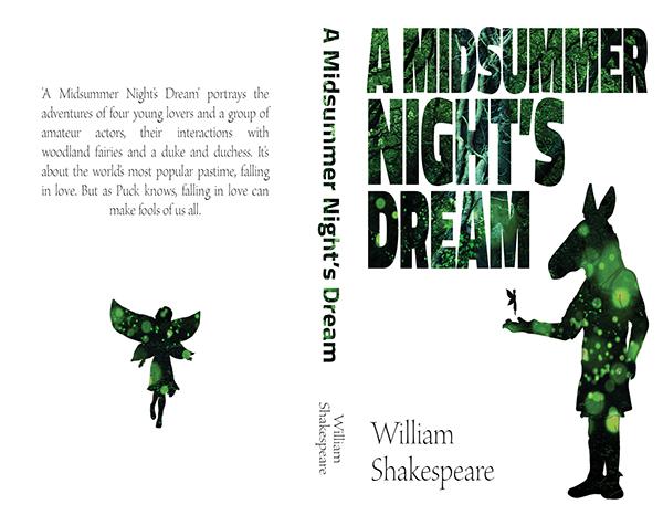 Book Cover Design Jobs London ~ A midsummer night s dream book cover on behance