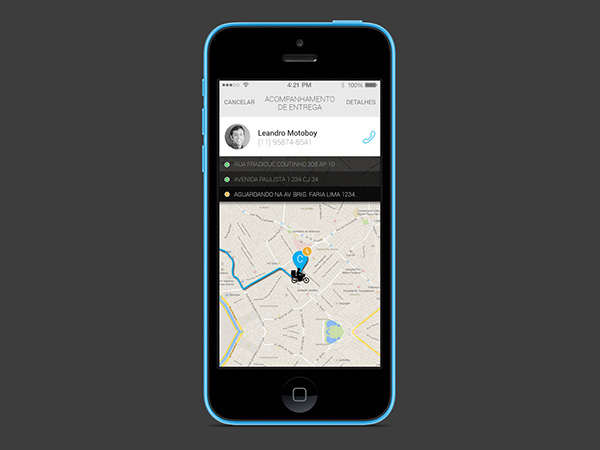 mobile app Logistics