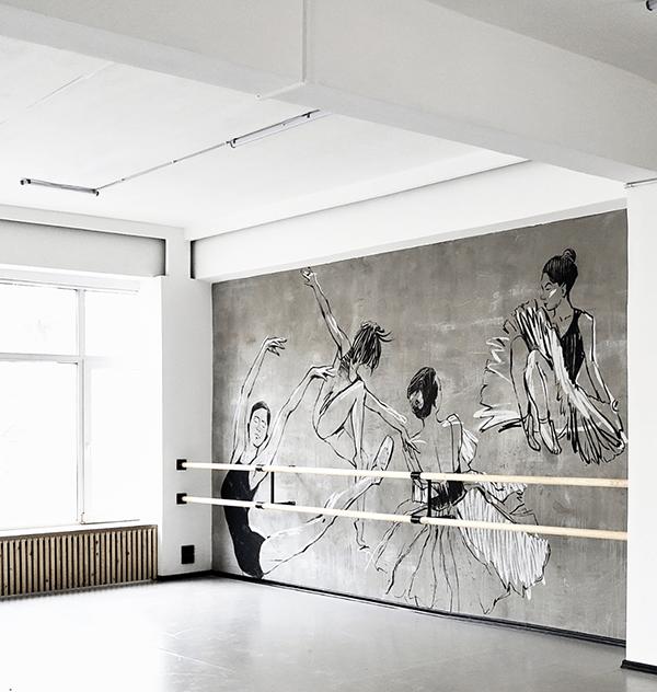 MURAL of Ballet Studio