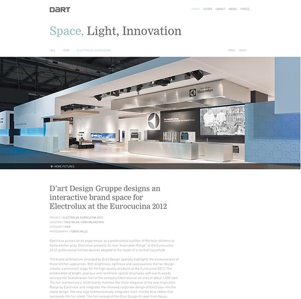 changing spaces d 39 art design gruppe on web design served. Black Bedroom Furniture Sets. Home Design Ideas