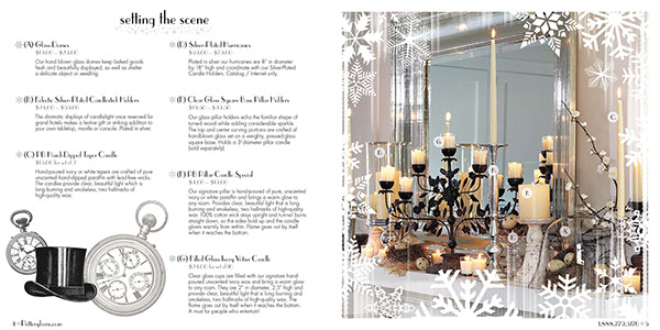 Pottery Barn New Year S Eve Catalog On Behance