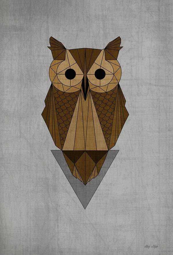 Geometric Animals II on Behance