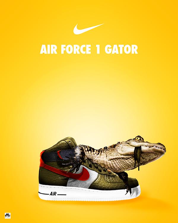 Air Force Gator Poster