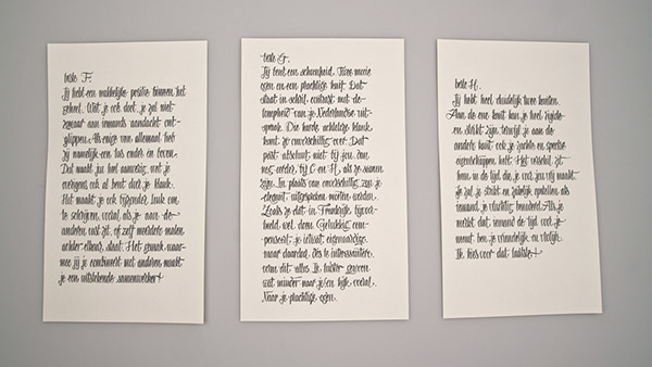 Studio AIRPORT type letter font ode Maurits Wouters Vincent de Boer Bram Broerse