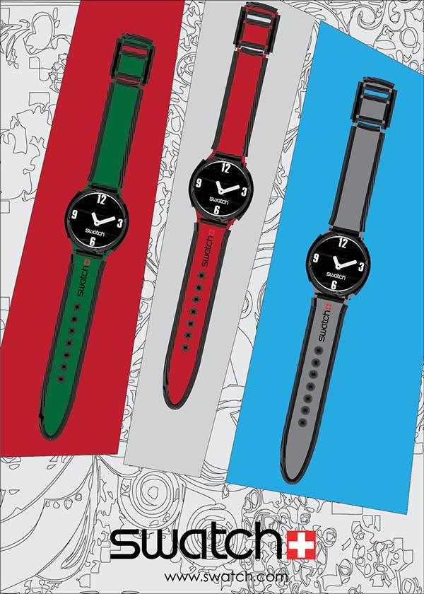 Watch Poster Design Watch Design on Behance