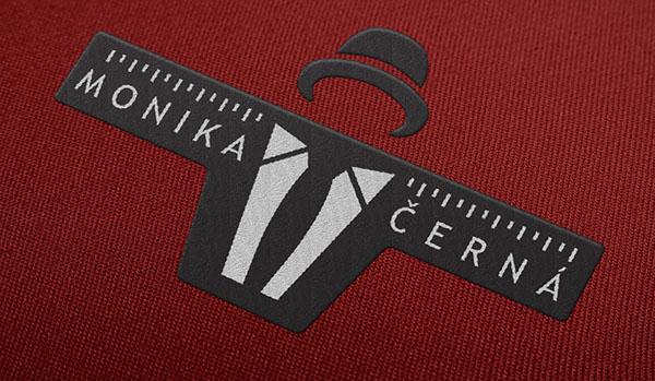 logo brand Label tailor shirt suit business elegant pattern tie neck-cloth cuffs tailoring mock up graphic burger