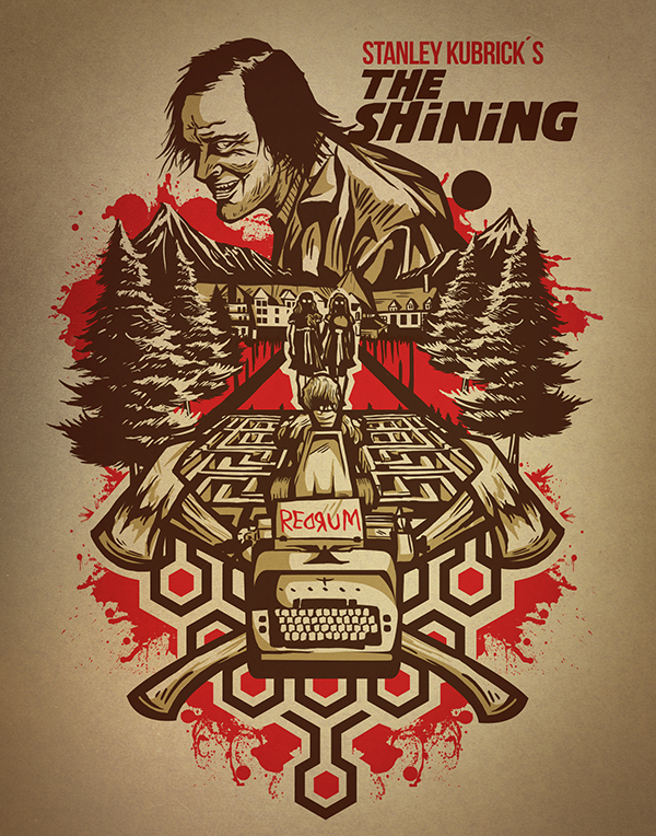 The Shining fan art on Behance
