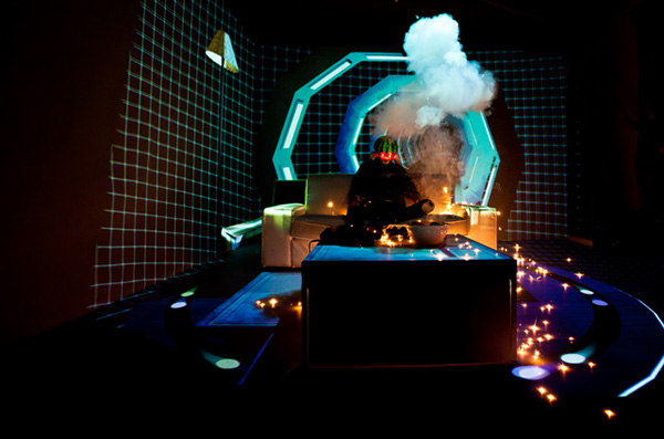 sony ps3 video store realtime projection mapping on behance