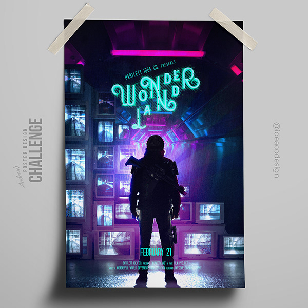 Wonderland Poster | Everyday 052 of 366