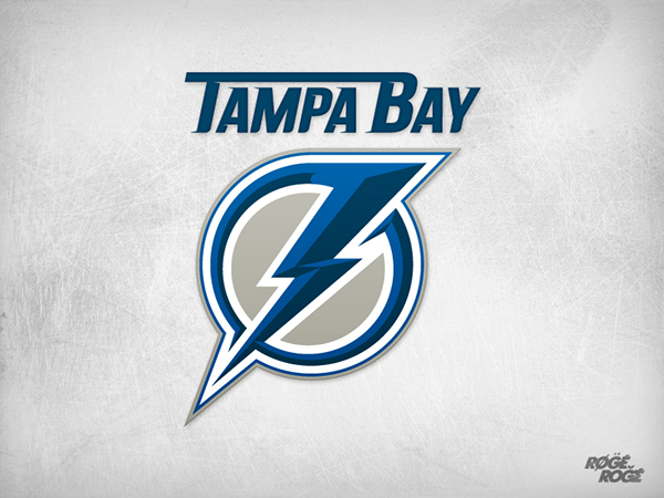 Note: This Is A Piece Of Concept Art Only. This Logo Is Not An Official  Mark Of Tampa Bay LIGHTNING.