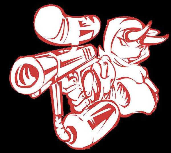 Paintball Logo Design